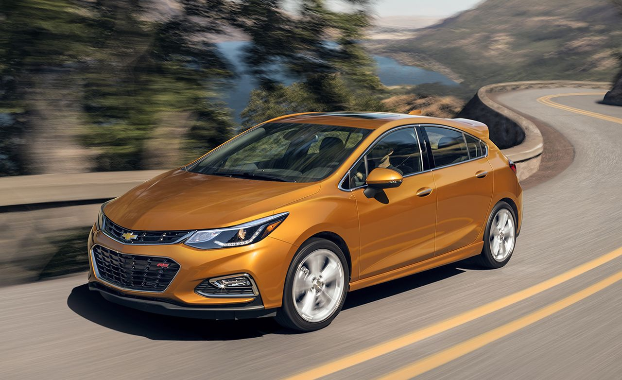 New Chevy Cruze >> 2017 Chevrolet Cruze Hatchback First Drive 8211 Review 8211