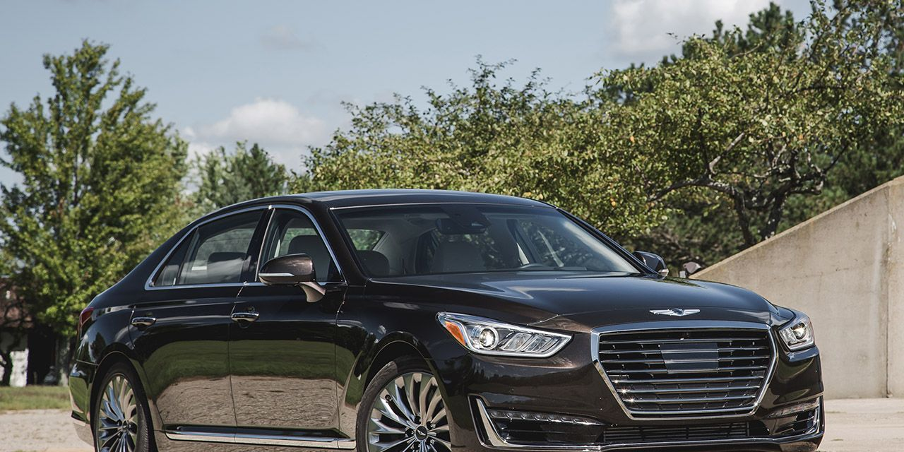 2017 Genesis G90 3 3t Awd Test 8211 Review 8211 Car And Driver