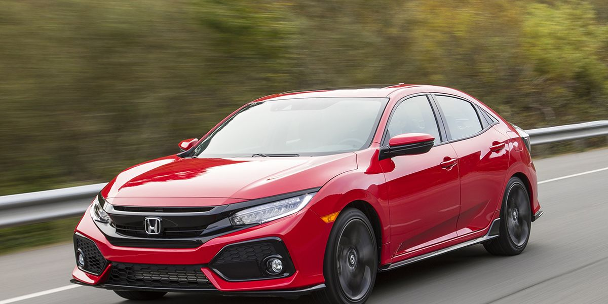 2017 Honda Civic Hatchback Driven