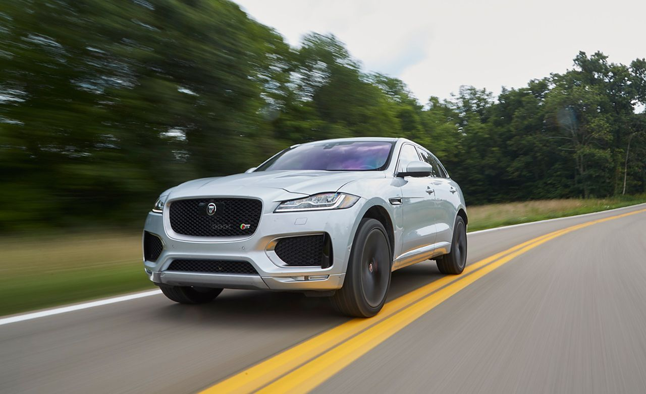 2017 Jaguar F Pace S First Edition Test 8211 Review 8211 Car And Driver