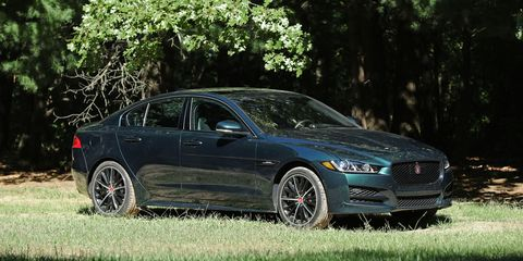 2017 Jaguar Xe 35t Premium >> 2017 Jaguar Xe 35t Awd Test Review Car And Driver