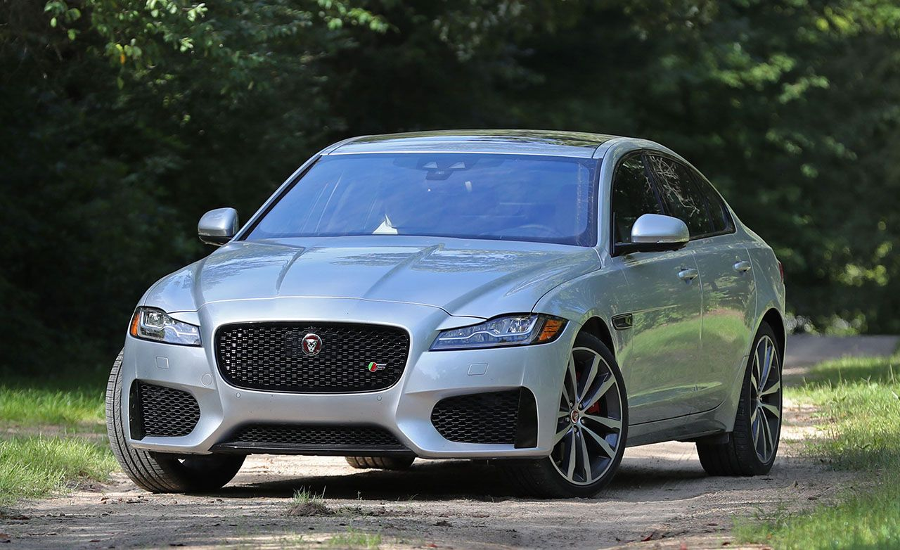 Tested 2017 Jaguar Xf S Awd