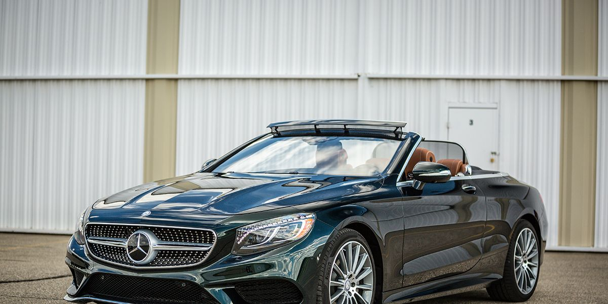 2017 Mercedes Benz S550 Cabriolet Instrumented Test 8211 Reviews Car And Driver