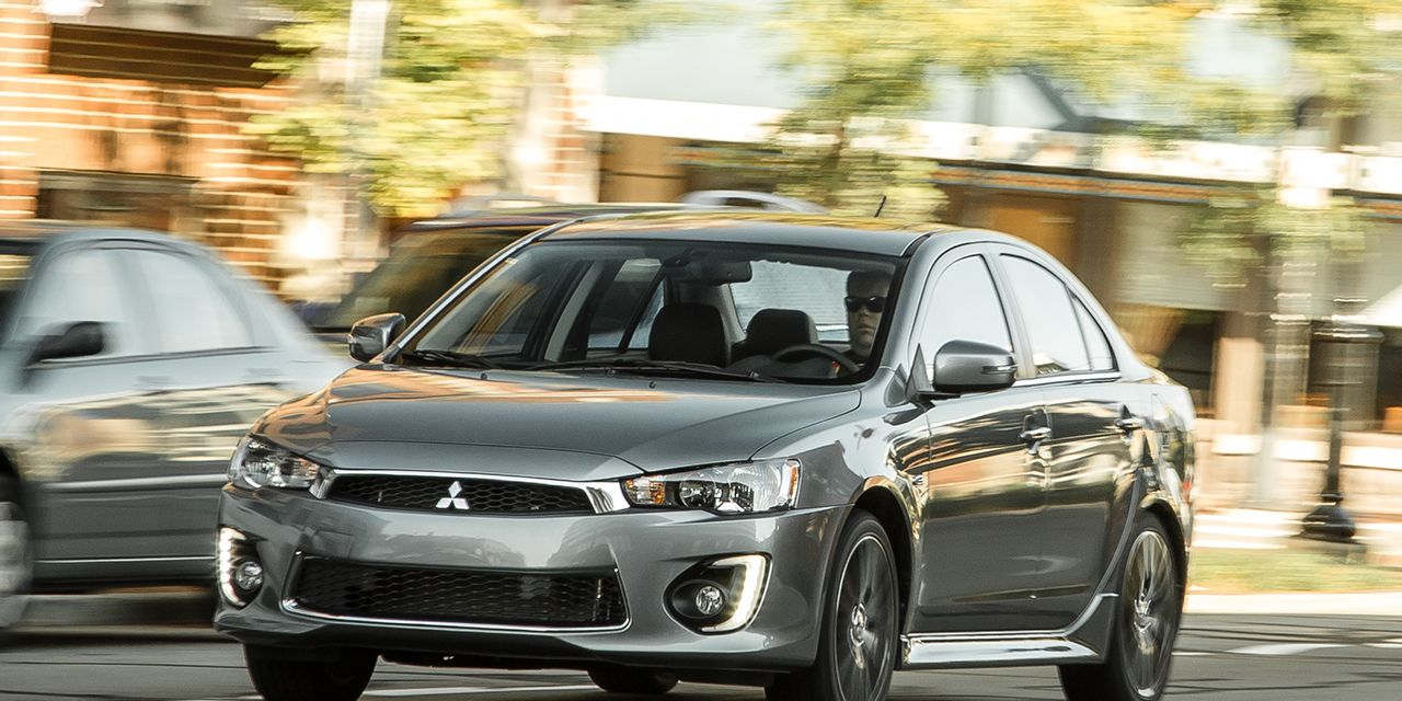 2017 Mitsubishi Lancer Awd Tested 8211 Review 8211 Car And Driver