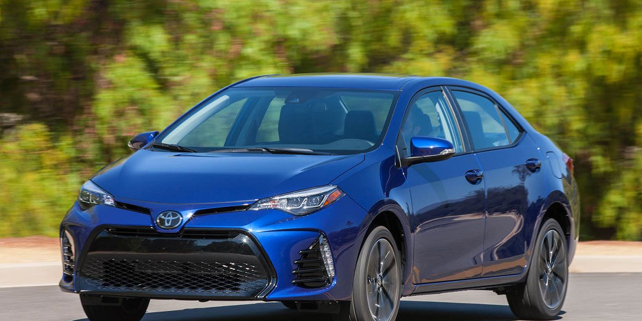 2017 Toyota Corolla First Drive 8211 Review 8211 Car And Driver