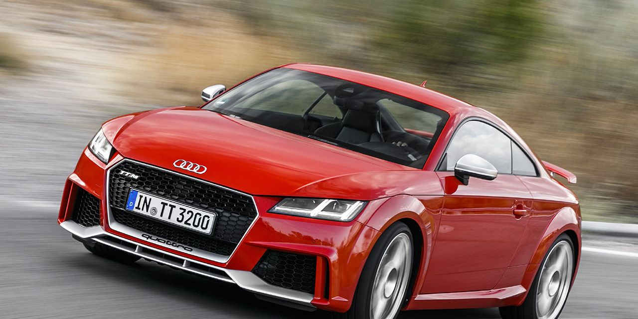 2018 Audi Tt Rs Coupe First Drive 8211 Review 8211 Car And Driver