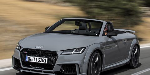2018 Audi Tt Rs Roadster For Sale