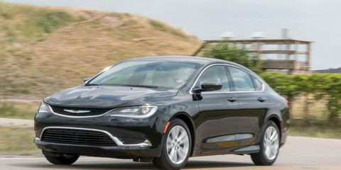 2016 Chrysler 200 V 6 Fwd