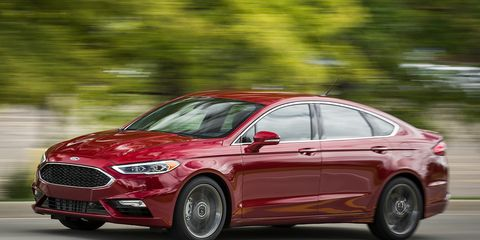 Ford Fusion Sport >> Tested 2017 Ford Fusion Sport 8211 Review 8211 Car And Driver