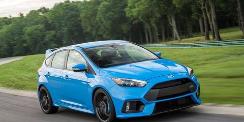 Black Friday Car Deals >> Ford Focus RS at Lightning Lap 2016 – Feature – Car and Driver