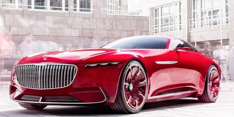Mode of transport, Automotive design, Vehicle, Land vehicle, Car, Red, Grille, Fender, Personal luxury car, Luxury vehicle,