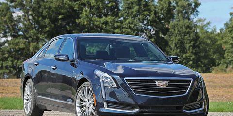2016 Cadillac CT6 3 6 AWD Test –