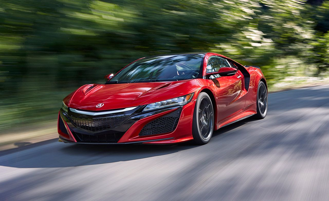Acura Sports Car >> 2017 Acura Nsx Supercar Full Test 8211 Review 8211 Car And Driver