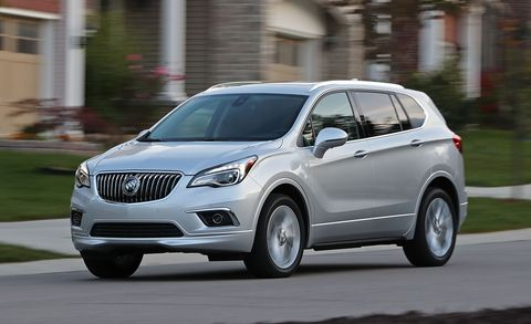 2017 Buick Envision 2 0T AWD Tested –