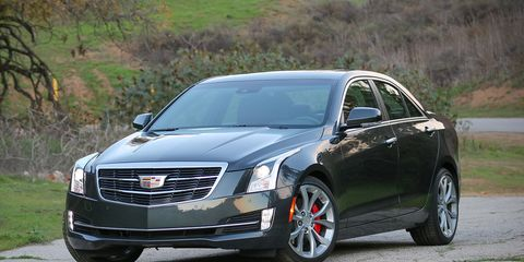 Cadillac Ats Sedan >> 2017 Cadillac Ats Sedan V 6 Test 8211 Review 8211 Car And Driver