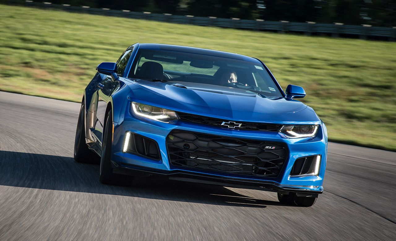 2017 Chevrolet Camaro Zl1 First Ride 8211 Review Car And Driver