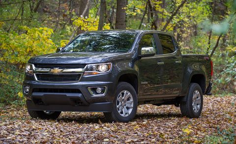 2017 Chevrolet Colorado V-6 8-Speed Automatic 4x4 Crew Cab ...