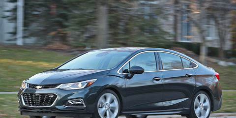 2017 Chevrolet Cruze 8211 Review Car And Driver