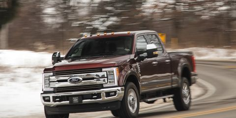 2017 Ford F-350 Super Duty Diesel 4x4 Crew Cab –