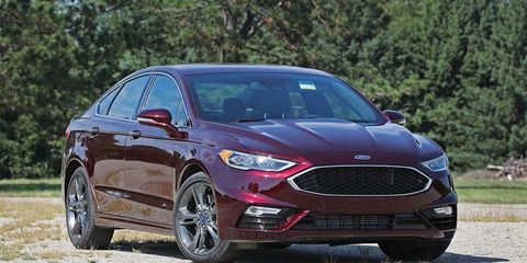 ford fusion sport  summer tires tested review car  driver