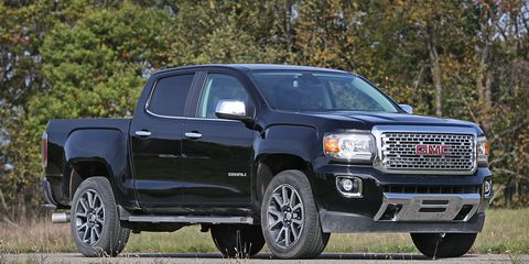 Gmc Canyon Towing Capacity >> 2017 Gmc Canyon 8211 Review 8211 Car And Driver