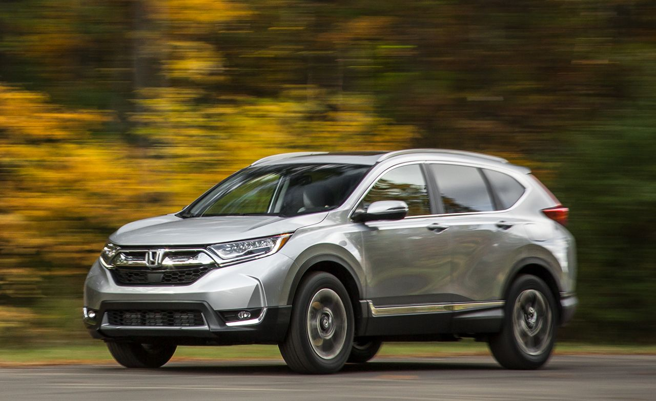 2017 Honda Cr V Awd