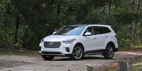 2017 Hyundai Santa Fe Awd Review Car And Driver