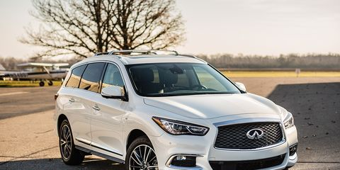 2017 Infiniti QX60 AWD Test – Review – Car and Driver