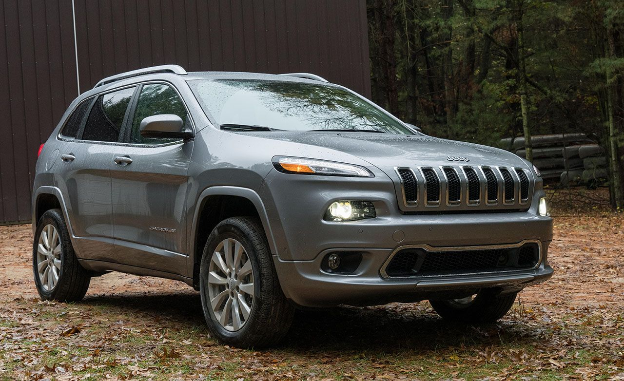 2017 Jeep Cherokee Overland 4x4 Tested 8211 Review Car And Driver