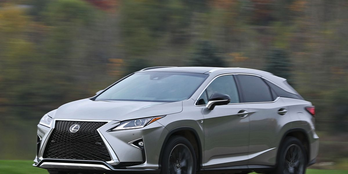 2017 Lexus RX350 – Review – Car and Driver