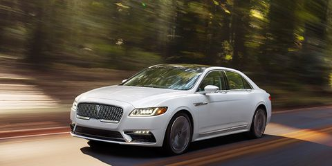 2017 Lincoln Continental First Drive –