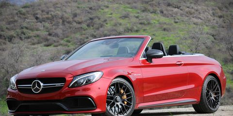2017 Mercedes Amg C63 Cabriolet Test 8211 Review 8211