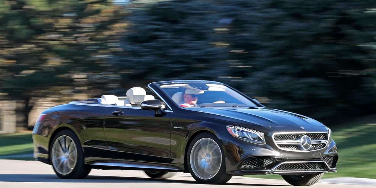 2017 Mercedes Amg S63 Cabriolet Test 8211 Review Car And Driver