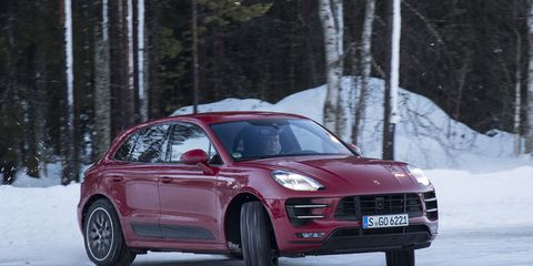 2017 Porsche Macan Turbo With Performance Package First