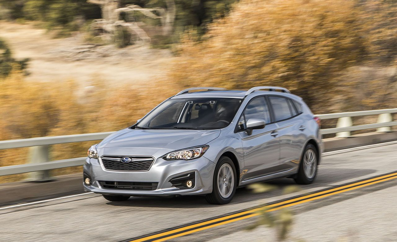 2017 Subaru Impreza 5 Door First Drive 8211 Review Car And Driver