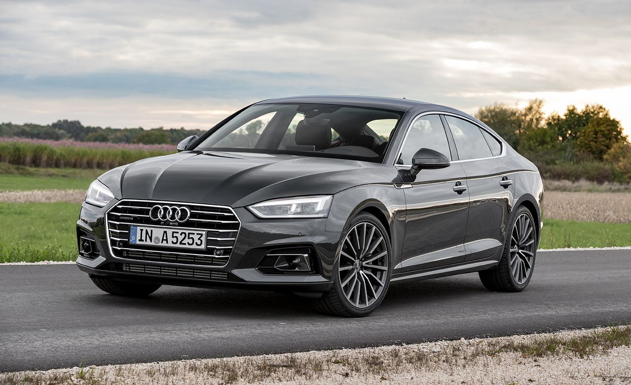 2018 Audi A5 Sportback First Drive 8211 Review 8211 Car And Driver