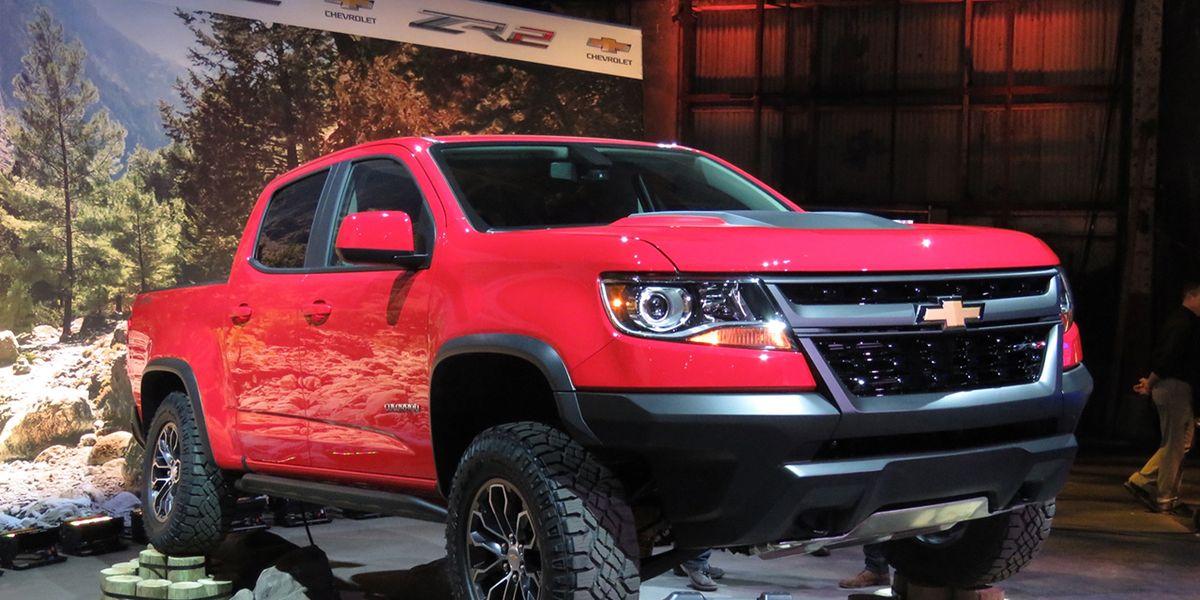 2017 Chevrolet Colorado Zr2 Photos And Info 8211 News 8211 Car And Driver