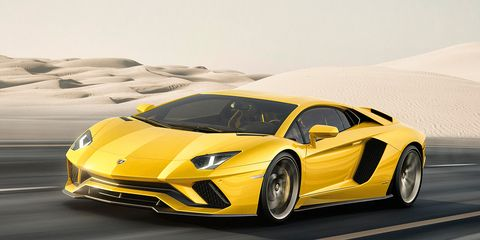 2017 Lamborghini Aventador S Now With 730 Hp And Four Wheel