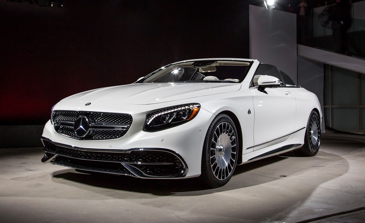 Mercedes Maybach S650 Cabriolet Photos And Info 8211 News 8211 Car And Driver
