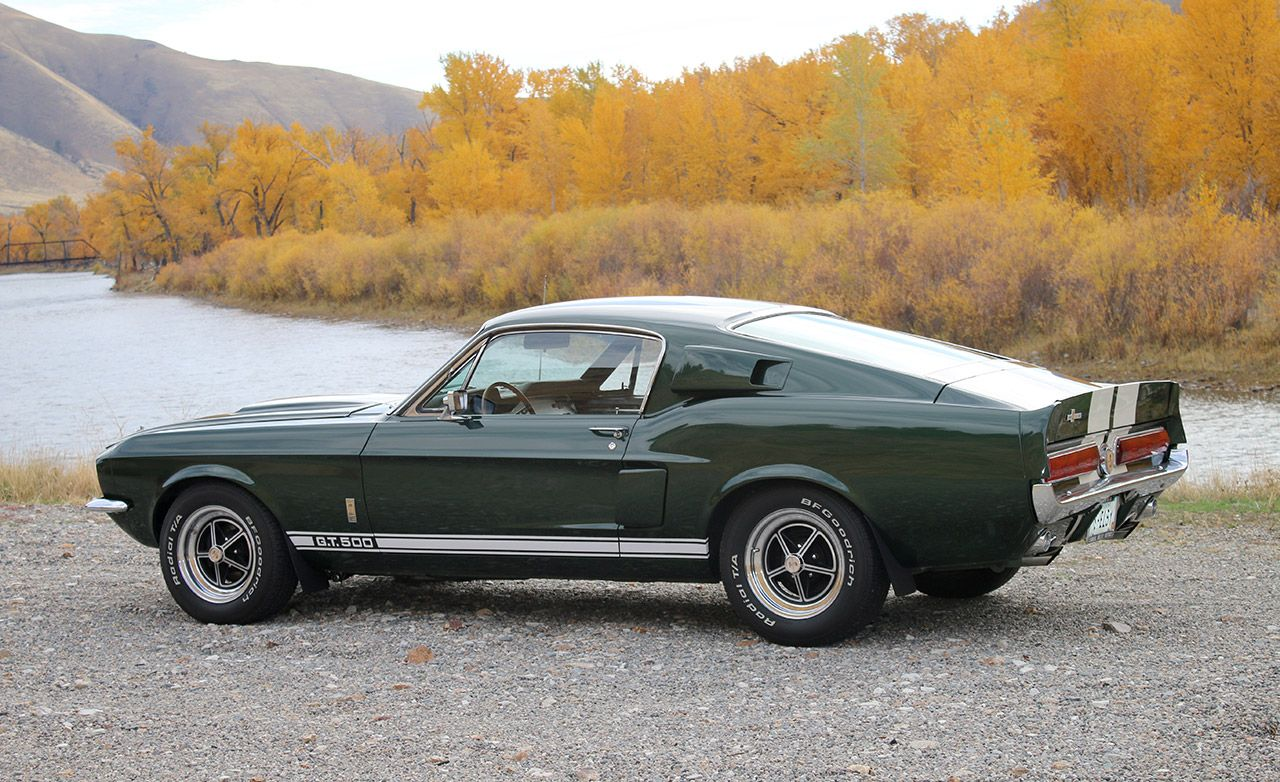A 67 shelby mustang gt500 and the joy of aimlessness