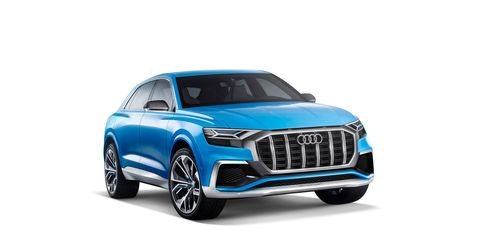 Audi Q8 Concept: Specs, Production Version >> Audi Q8 Concept Dissected Chassis Design And More