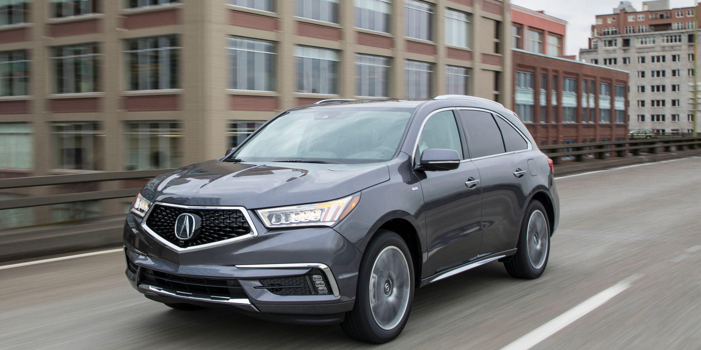 2017 Acura Mdx Sport Hybrid Sh Awd First Drive Review Car And Driver