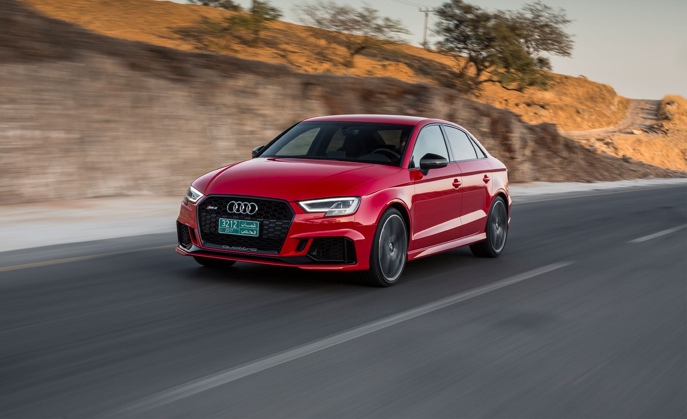 2017 Audi Rs3 First Drive Review Car And Driver