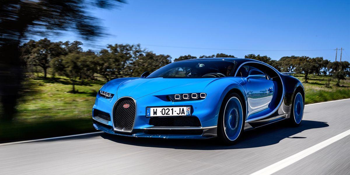 2017 Bugatti Chiron First Drive