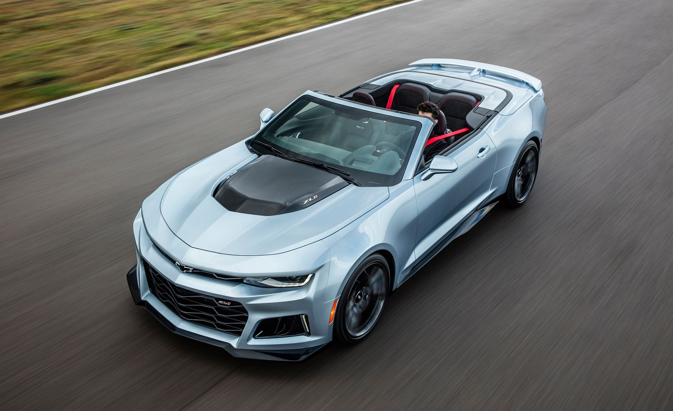 2017 Chevrolet Camaro Zl1 Convertible First Drive Review Car And Driver