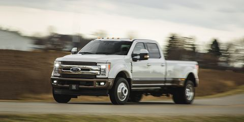 2017 Ford F-450 Super Duty Diesel Test | Review | Car and Driver