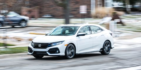 2017 Honda Civic Hatchback Cvt Automatic Review Car And
