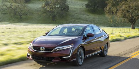 2017 Honda Clarity Fuel Cell First Drive | Review | Car and