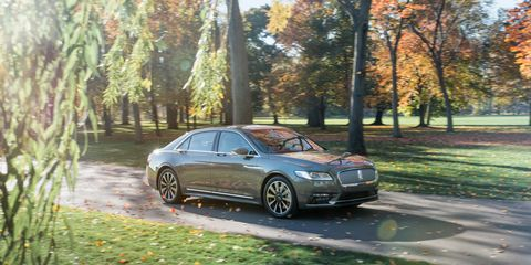 2017 Lincoln Continental 3 0T AWD Test –