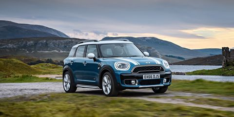 2017 Mini Countryman First Drive 8211 Review 8211 Car And Driver